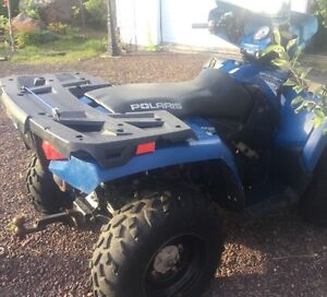 Polaris Quad For Sale Plow and Winch Included