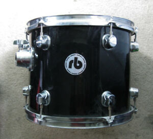 "rb 12"" Tom Tom Gloss Black"