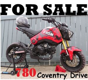 will PRICE MATCH .......... a mere 291 kms ..... 2015 Honda Grom