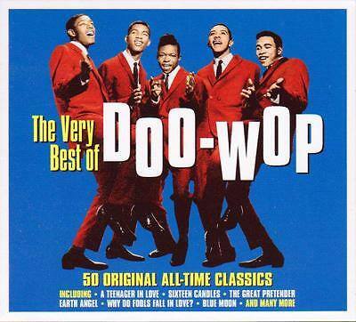 THE VERY BEST OF DOO-WOP - 50 ORIGINAL ALL-TIME CLASSICS (NEW SEALED (The Best Classical Music Of All Time)