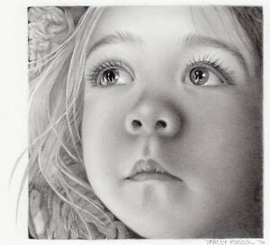 PENCIL PORTRAITS - Tracey Rossol