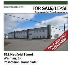 Industrial Condo in Warman, SK - For Sale & Lease