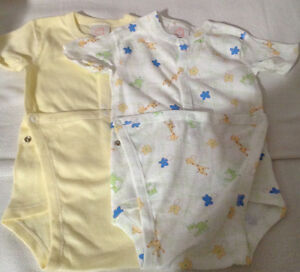 New: 2 Diaper Shirts Baby'Own size 18 months.