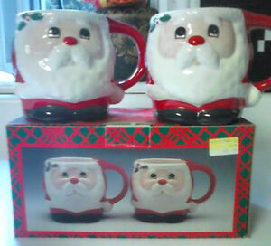 Pair of Christmas Mugs
