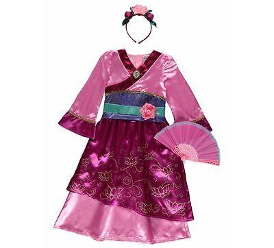 George Disney Prinzessin Mulan Kostüm Outfit Buch Tag Kostüm Welttag des - Mulan Disney Kostüm