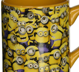 Despicable Me Cluttered Minions Ceramic Mug, 14-Ounce NEW