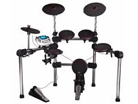 Carlsbro Digital Drum Kit ADD501 (CSD200) with Stagg EDA40 40W Digital Drum Amplifier + accessories