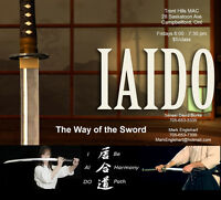Iaido in Campbellford - continues
