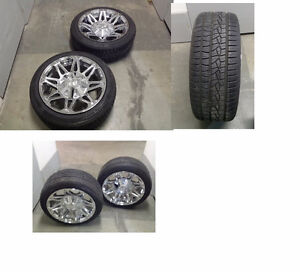Tires and Rims for Ford, Chevy, Chrysler Pick Up Trucks