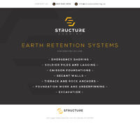 Shoring Contractor - Engineered Earth Retention Systems