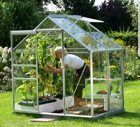 New aluminium greenhouses glasshouse garden gardeners plants