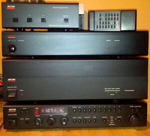 ADCOM Audiophile stack