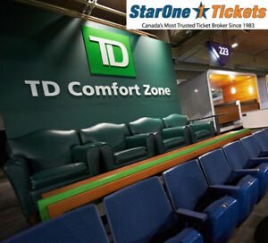 TD Comfort Clubhouse Seats: Toronto Blue Jays 2018 Tickets!!!!!!