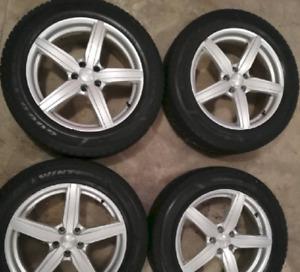 Toyota Venza or Higlander Winter Tire On Alloy Rims