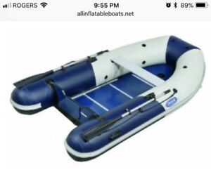 Zodiac 310S Inflatable Boat with 9.9 hp outboard Yahama motor