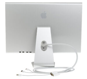 Apple Cinema Display Monitor with thunderbolt connection