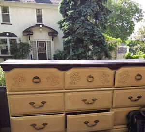 dresser side tables and amoire