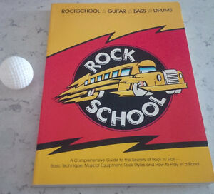 Rock School - Guitar - Bass - Drums, 1984