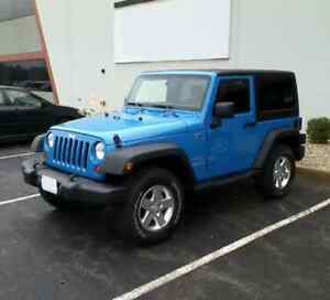 2015 Jeep Wrangler (44,000 KM) - In great condition