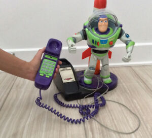 Buzz lightyear working phone - collectible