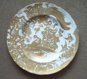 WANTED!! ROYAL CROWN DERBY CHINA DINNERWARE IN THE AVES GOLD PAT