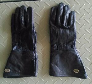 Harley Davidson Vintage-style Gauntlet Leather gloves (mens)