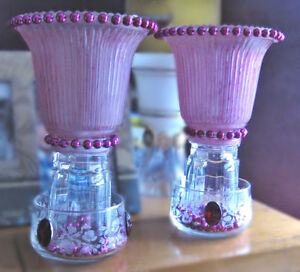 FUCHSIA, FUCHSIA, FUCHSIA CANDLE LIGHTS