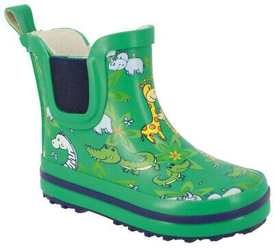BECK Gummistiefel Regenstiefel f. die Kleinsten  - Die Roten Stiefel Kinder