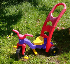 Tricycle bicycle fisher price