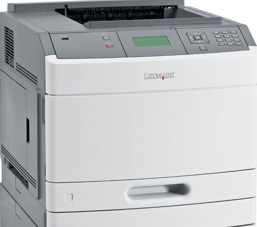 Lexmark T650N A4 Mono Laser Printer