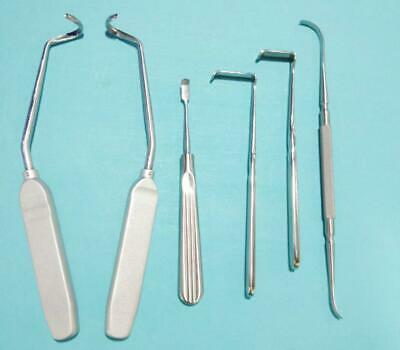Stainless Steel Cartilago Costalis Retractor Set Plastic Surgery Instruments