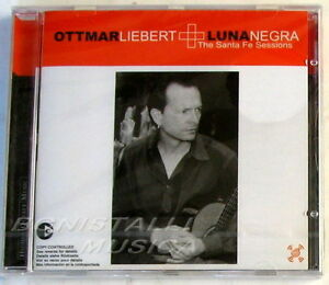 OTTMAR-LIEBERT-LUNA-NEGRA-THE-SANTA-FE-SESSIONS-CD-Sigillato