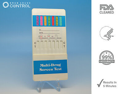 12 Panel Home Drug Testing Kit - Tests 12 Drugs Instantly - Free Shipping!