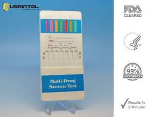 12 Panel Drug Testing Kit - Drug Tests THC COC OPI BUP BZO - FDA Cleared