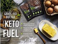Keto coffee - helps with weightloss, fuels your brain, more energy