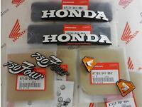 HONDA CB 750 four k0 k1 k2 k3 k4 k5 k6 Chrome FUEL TANK FILLER Cap Lock Check