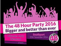 Pontins Southport - 48 hour party 25th-27th November for 4 people