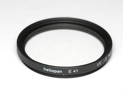 Heliopan UV-Filter E 41mm x 0,5 vergütet Slim - Made in Germany (NEU/OVP)