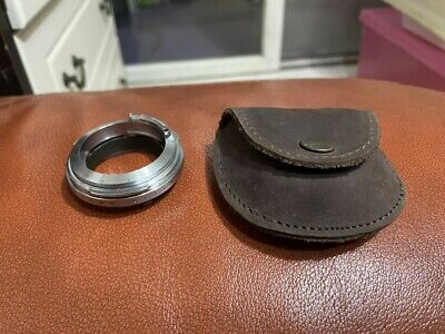 [Mint] Amedeo Adapter ; Nikon S to Leica M mount