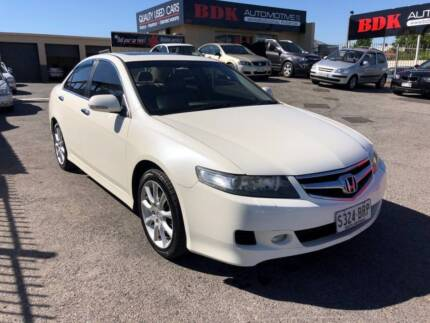 2005 Honda Accord Euro Luxury 5 Speed Sequential Auto Sedan Cars