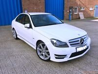 Mercedes Benz C Class 2.1 CDI AMG Sport with FULL CREAM LEATHER INTERIOR