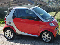 Smart City Cabrio - spares or repair?
