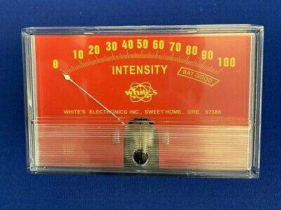 Whites Electronics 400-0042 Dc 0100 Analog Ampere-meter Panel Meter Gauge