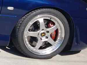 120 x 5 Commodore MC RACING wheels 18 x8 inch Springwood Logan Area Preview