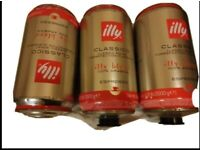 Illy Coffee Beans 3kg x3 (3 drums available)