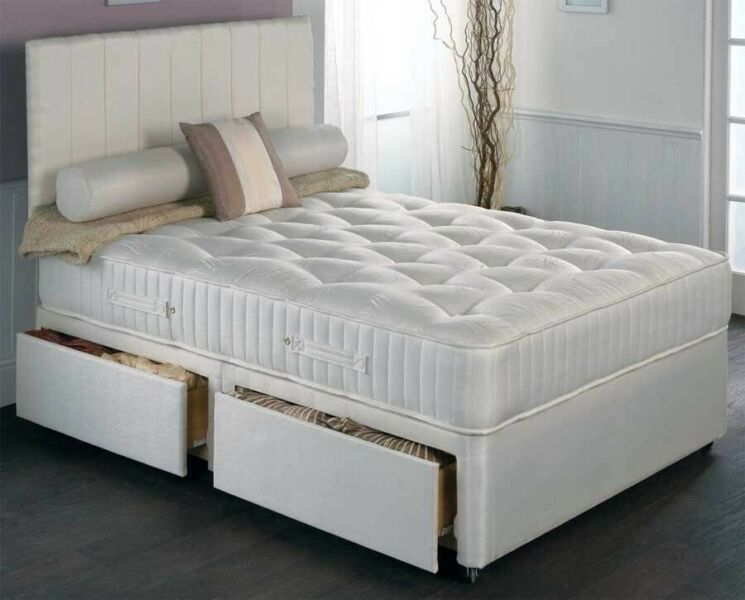 🌈Wow Premium Quality Britain Beds🌈70% Off🌈 Brand New Double /King Divan Bed w Orthopedic Mattress for sale  Newham, Forest Gate