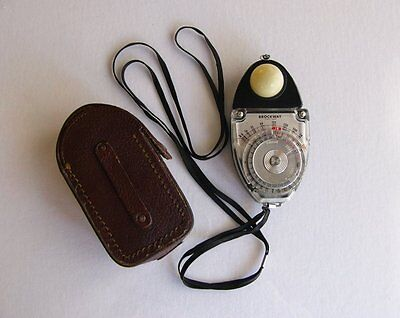 SEKONIC BROCKWAY STUDIO EXPOSURE METER MODEL - S With Case Strap - $65.00