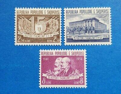 Albania Stamps, Scott 509-511 Complete Set MNH