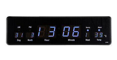 LED Uhr Wanduhr Datum Temperatur Anzeige Digital Datum Bar Café JH808