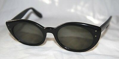 Vintage BAUSCH & LOMB Cat-Eye Women's Rx Sunglasses Frames 5 1/2 47[]18